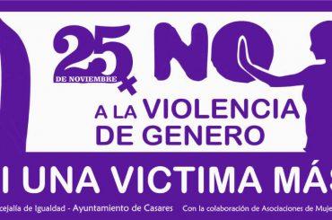Casares una vez más contra la violencia de género