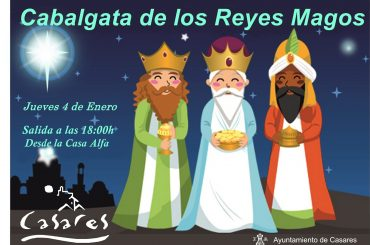 Casares celebra hoy su tradicional cabalgata de Reyes.