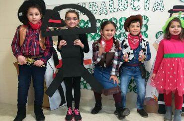 Con mirada infantil (Los Almendros) – Día de Andalucía y Carnaval